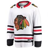 Chicago Blackhawks NHL Jersey, White, Size Large, Fanatics Breakaway